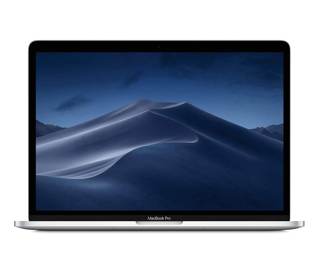 "Apple MR9U2LL/A 13.4"" MacBook Pro Laptop (Retina, Touch Bar, 2.3GHz Quad-Core Intel Core i5, 8GB RAM, 256GB SSD Storage) Silver (2018 Model)"