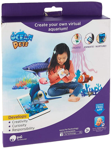 Putao Technology Inc (PAI) Ocean Pets Creative Play Enhanced by Augmented Reality Toy