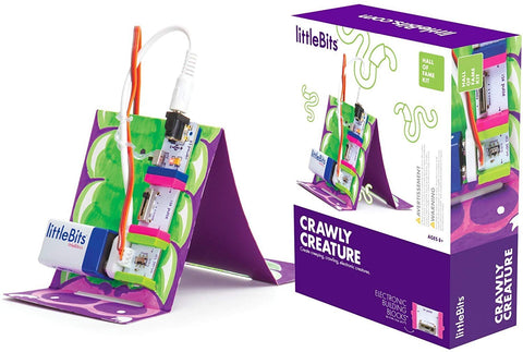 Little Bits Hall of Fame Crawly Creature Kit, Purple