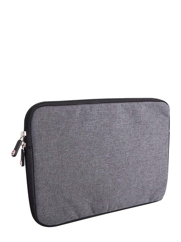 Swiss Gear Under Seat Size Laptop Sleeve - Holds Up to 15.6-Inch Laptop, Grey