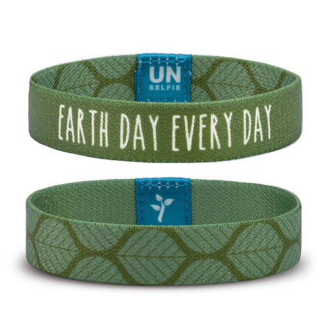 Unselfie Band - Earth Day, Every Day - ZeroWasteSociety