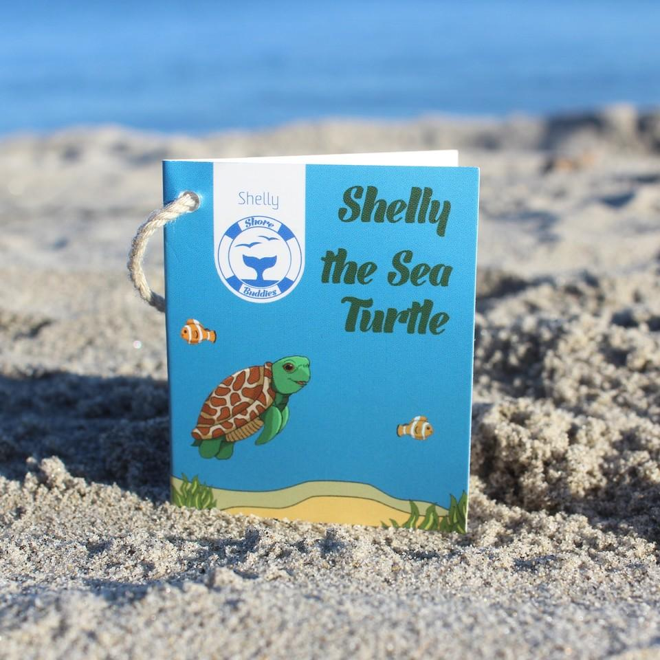 Shelly the Sea Turtle - Shore Buddies - ZeroWasteSociety