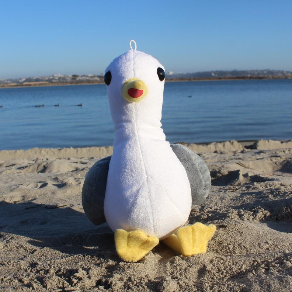 Stephen Seagull - Shore Buddies - ZeroWasteSociety