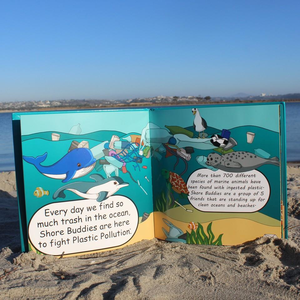 Shore Buddies And the Plastic Ocean Book - ZeroWasteSociety