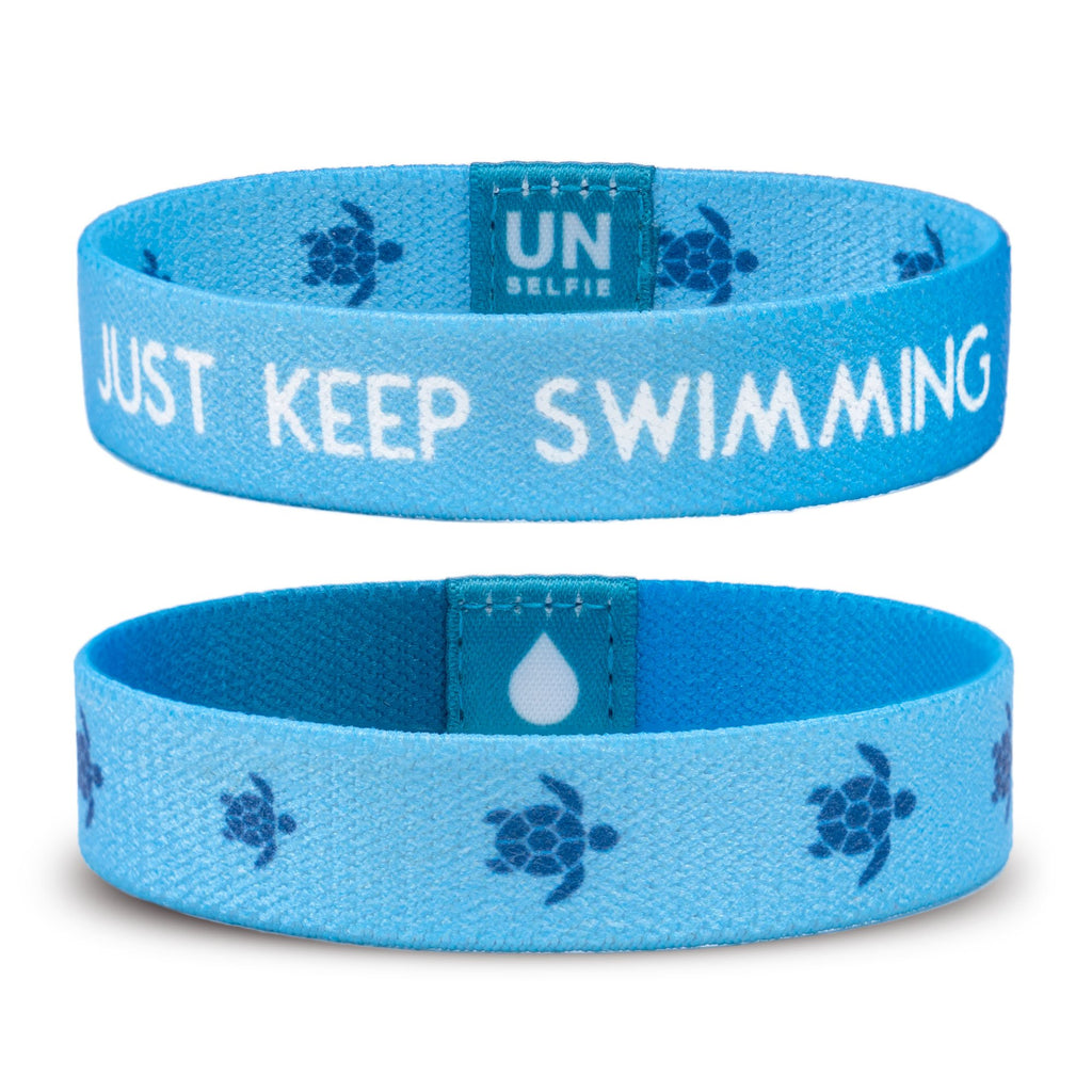 Unselfie Bracelet - Sea Turtles - ZeroWasteSociety