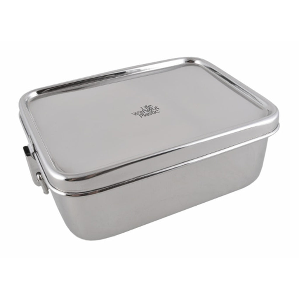 Rectangular Airtight Food Container - Life Without Plastic - ZeroWasteSociety