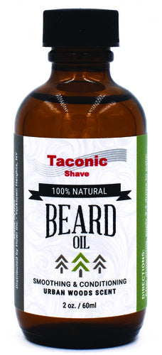 Natural Beard Oil - Taconic Shave - ZeroWasteSociety