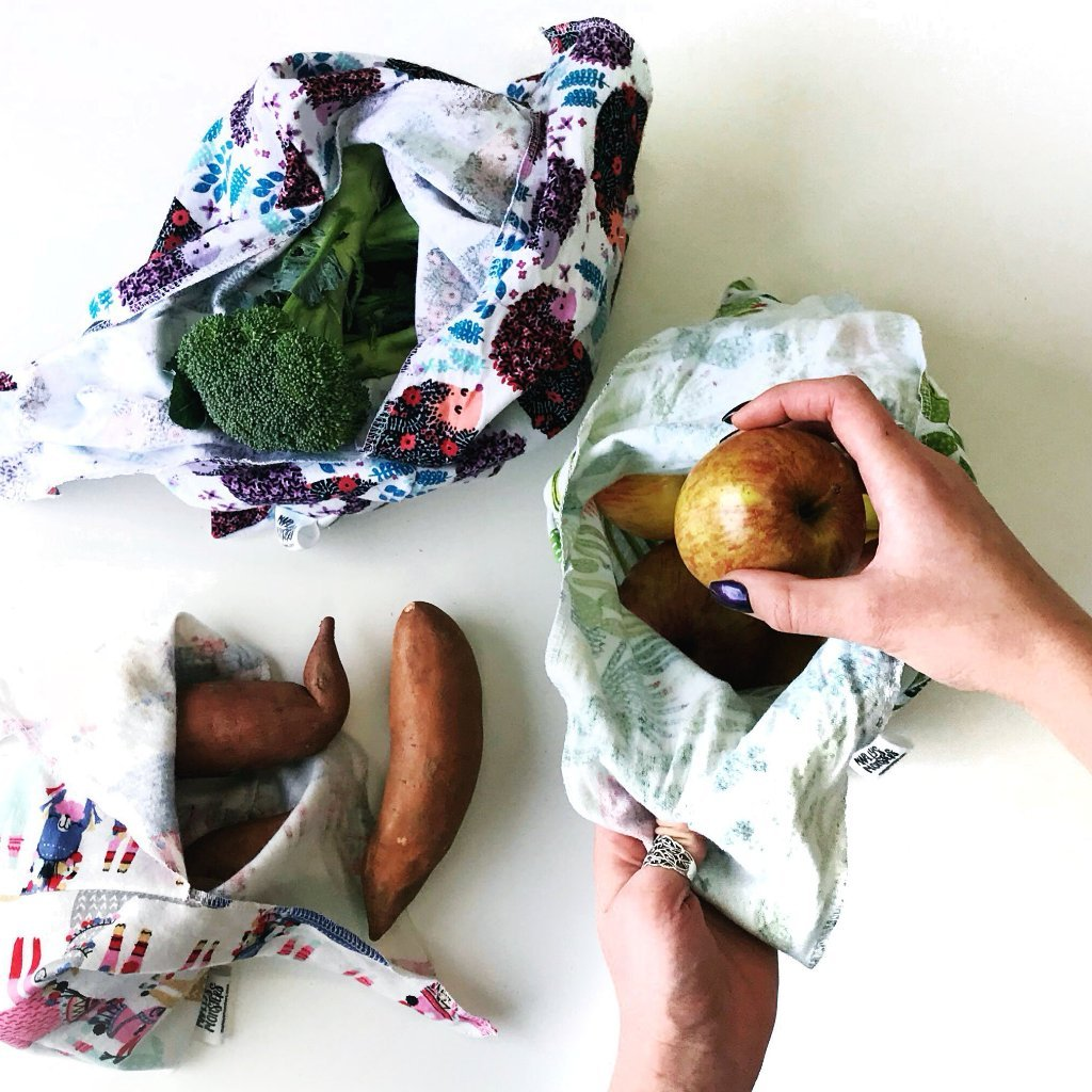 Bento Bags Large - Marley's Monsters - ZeroWasteSociety