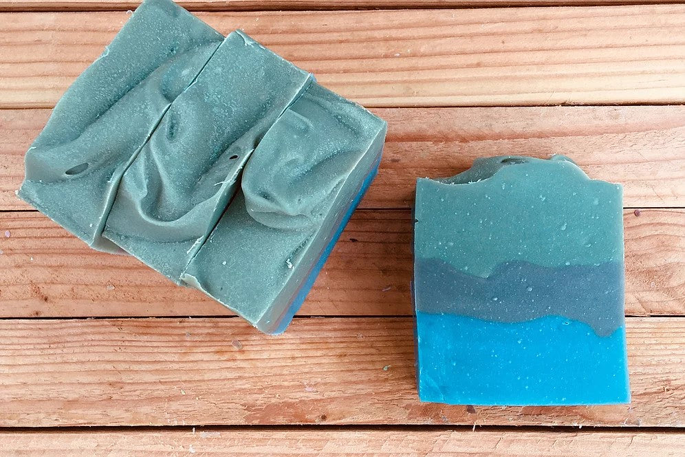 Camp Darin Vegan Soap Bar - Sunrise Soapworks - ZeroWasteSociety