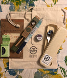 On-the-Go Essentials Zero Waste Kit (Earth Day Edition) - ZeroWasteSociety