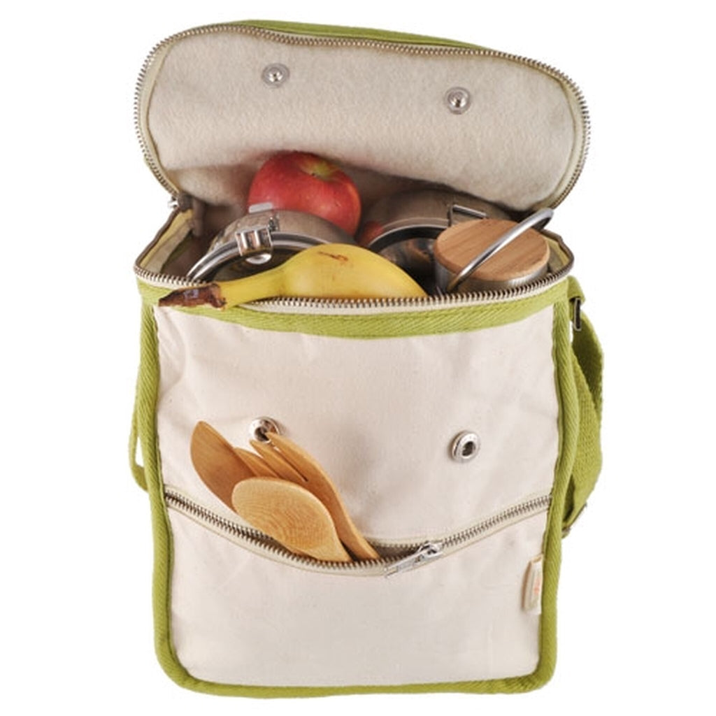 Wool Insulated Lunch Bag - Life Without Plastic - ZeroWasteSociety