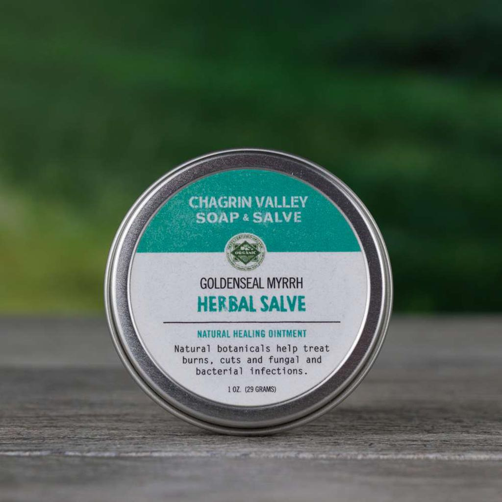 Salve: Goldenseal & Myrrh - Chagrin Valley Soap & Salve - ZeroWasteSociety
