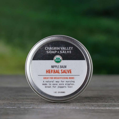 Nursing Nipple Balm - Chagrin Valley Soap & Salve - ZeroWasteSociety