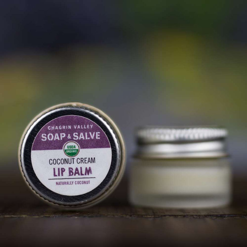 Lip Balm: Coconut Cream - Chagrin Valley Soap & Salve - ZeroWasteSociety