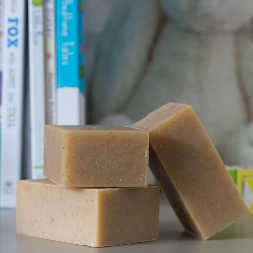 Milk & Honey Baby Soap - Chagrin Valley Soap & Salve