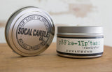 Eucalyptus Soy Candle - SoCal Candle Co. - ZeroWasteSociety