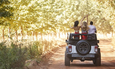 Tips for Off-Roading With Your Jeep's Top Off