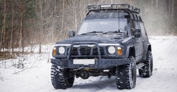 What To Know Before You Go Off-Roading in the Winter