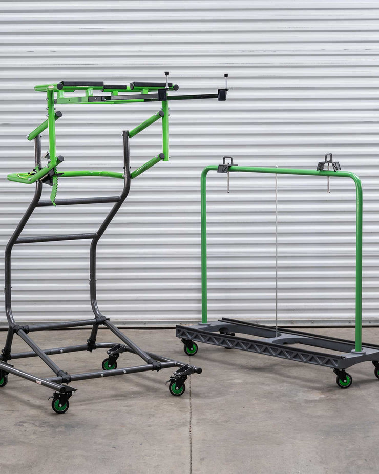 Jeep Hardtop Removal and Store-A-Door Cart Storage Bundle - 2/4 door cart JK/JL Jeep Models
