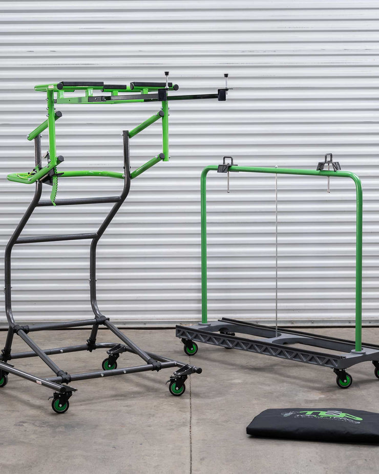 ** TopLift Pro Jeep Hardtop Removal and Store-A-Door Cart & Cover Bundle **