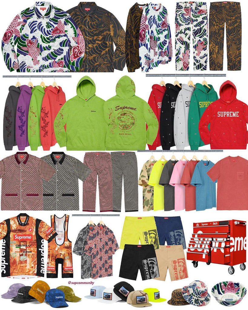 Supreme Week 14 Retail Prices and Droplist (SS20)