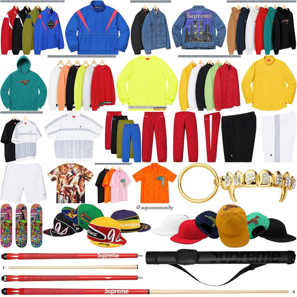 8d8d2ee294c6 Supreme Week 12 Retail Prices and Droplist (SS19) | HyperCop