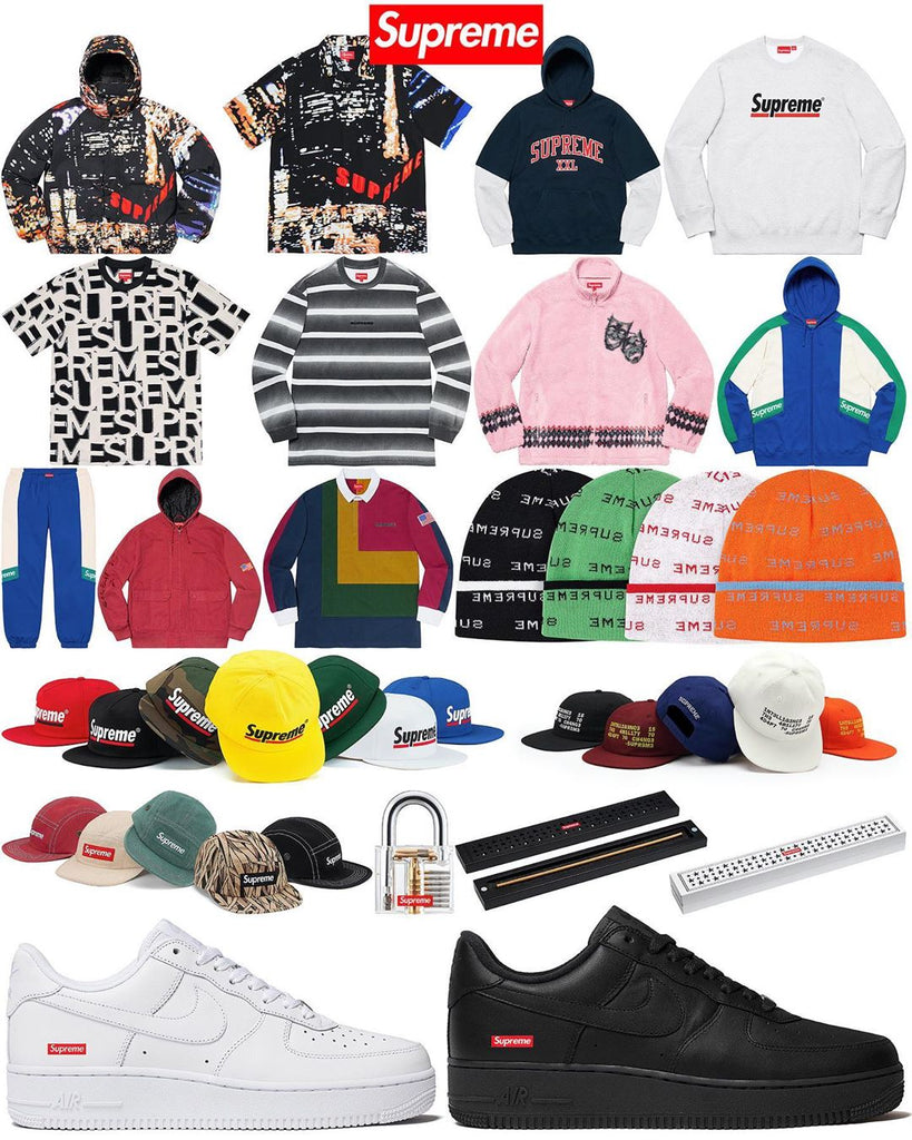 Supreme Setup Guide & Keywords Week 2 (FW19)