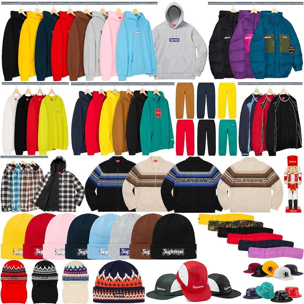 Supreme Week 16 Retail Prices and Droplist (FW19)