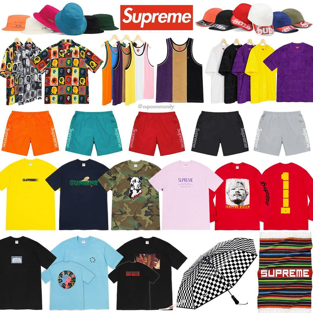 Supreme Week 18 Setup Guide and Keywords (SS20)