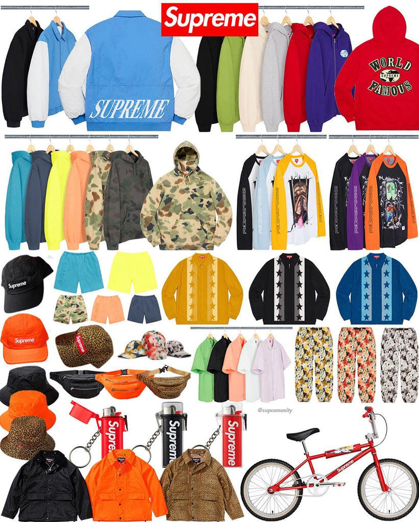 Supreme Week 11 Retail Prices and Droplist (SS20)
