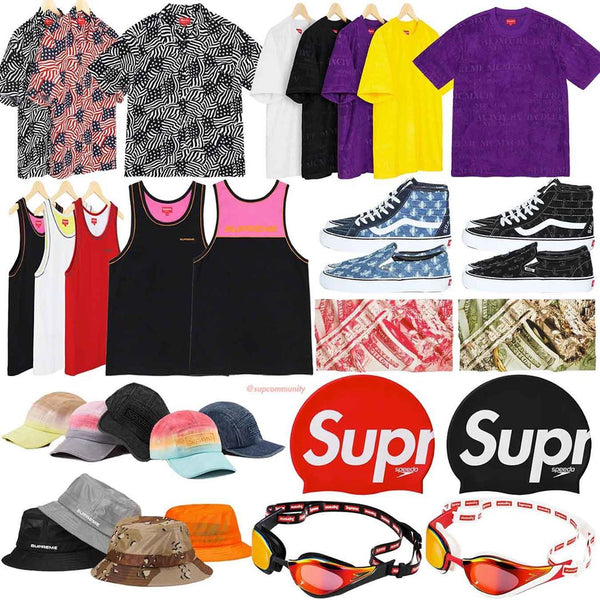 Supreme Week 19 Retail Prices and Droplist (SS20)