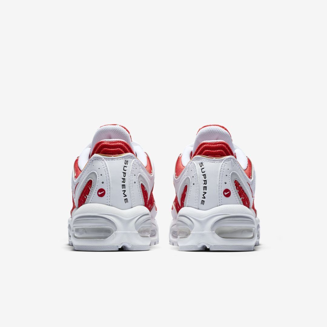 Supreme x Nike Air Tailwind IV (Red And White) back heel