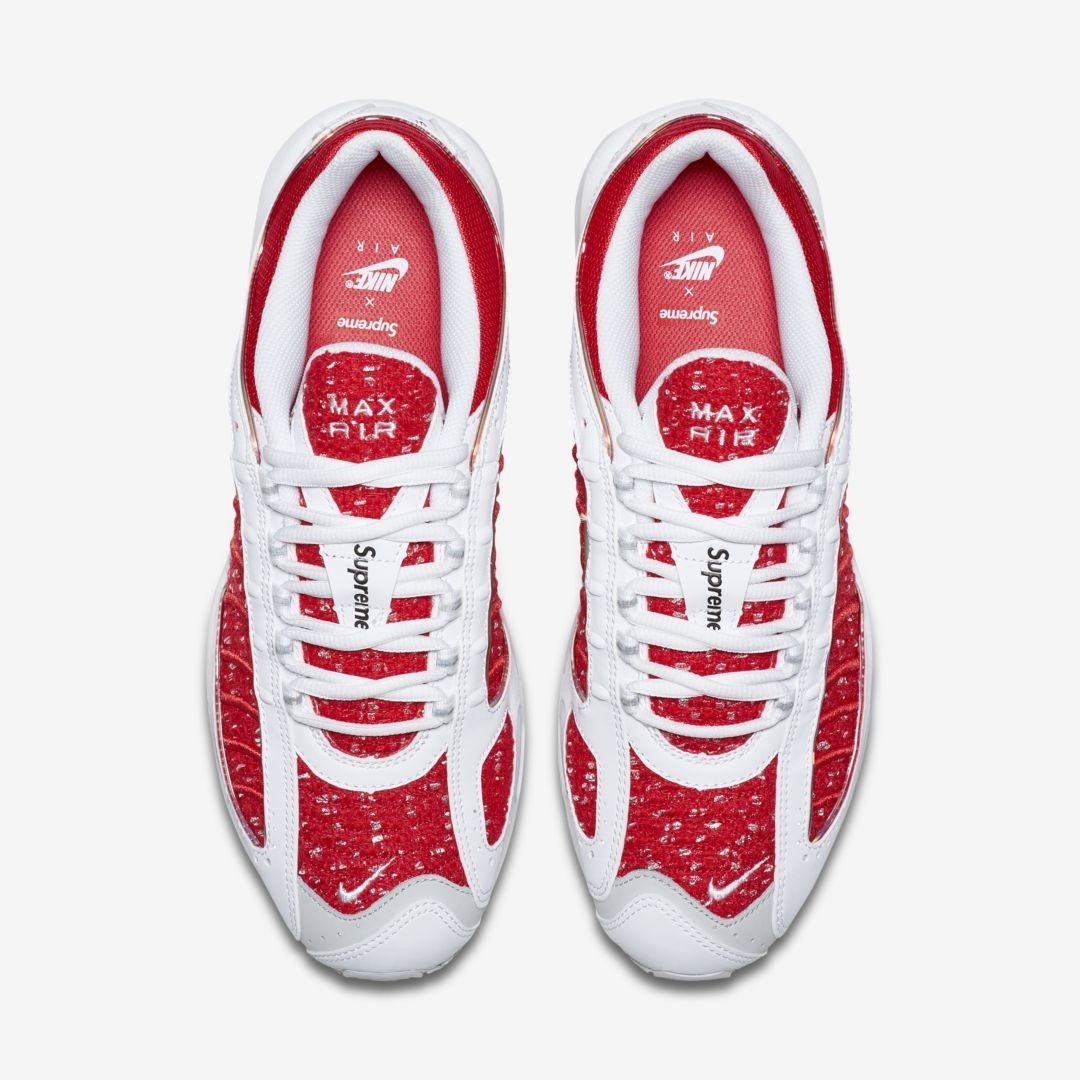 Supreme x Nike Air Tailwind IV (Red And White) top