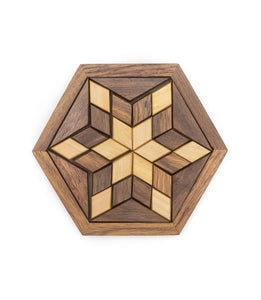 Wooden Star Puzzle - Matr Boomie - Urban Hollywood | UrbanHollywood.com