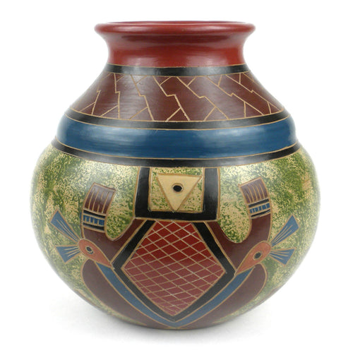 7 inch Tall Vase - Abstract - Esperanza en Accion - Urban Hollywood | UrbanHollywood.com