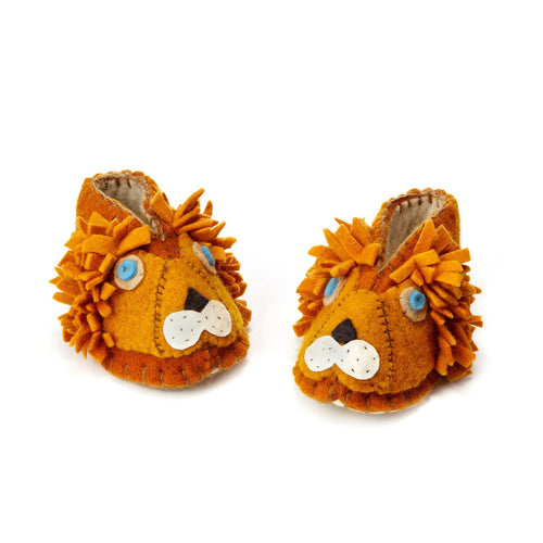 Lion Zooties Baby Booties - Silk Road Bazaar - Urban Hollywood | UrbanHollywood.com