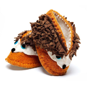 Hedgehog Zooties Baby Booties - Silk Road Bazaar - Urban Hollywood | UrbanHollywood.com