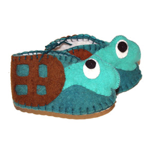 Turtle Zooties Baby Booties - Silk Road Bazaar - Urban Hollywood | UrbanHollywood.com