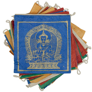 Paper Prayer Flag Five Buddhas - Tibet Collection - Urban Hollywood | UrbanHollywood.com