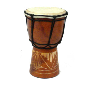 Mini 6 inch Djembe Drum - Jamtown World Instruments - Urban Hollywood | UrbanHollywood.com
