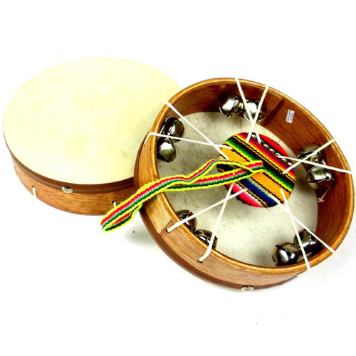 Junior Jingle Frame Drum - Jamtown World Instruments - Urban Hollywood | UrbanHollywood.com