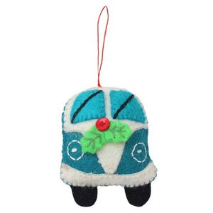 Turquoise Van Felt Ornament - Global Groove (H) - Urban Hollywood | UrbanHollywood.com