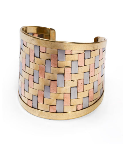 Woven Dreams Cuff - Matr Boomie (Jewelry) - Urban Hollywood | UrbanHollywood.com