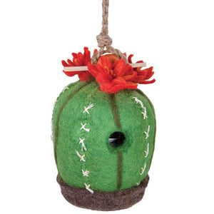 Felt Birdhouse - Cactus - Wild Woolies - Urban Hollywood | UrbanHollywood.com