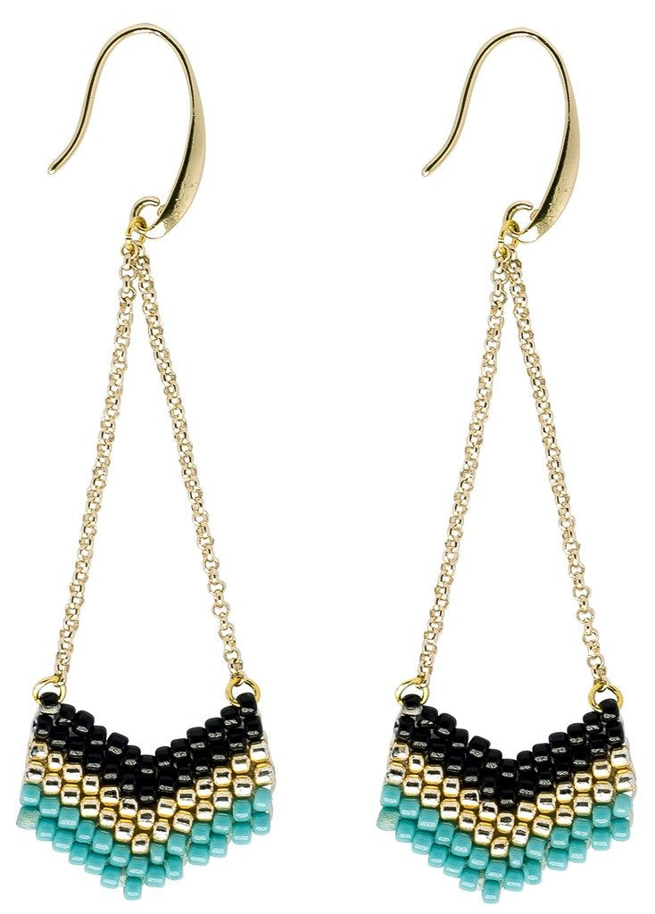 Earrings: Eve Seaside - Marquet (J) - Urban Hollywood | UrbanHollywood.com