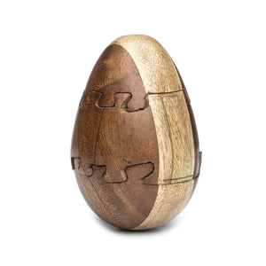 Wooden Egg Puzzle - Matr Boomie - Urban Hollywood | UrbanHollywood.com