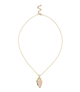 Abbakka Arrowhead Necklace - Rose - Matr Boomie (Jewelry) - Urban Hollywood | UrbanHollywood.com