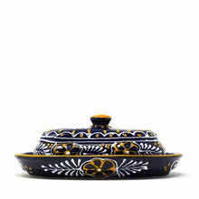 Load image into Gallery viewer, Handmade Pottery Butter Dish, Blue - Encantada - Urban Hollywood | UrbanHollywood.com