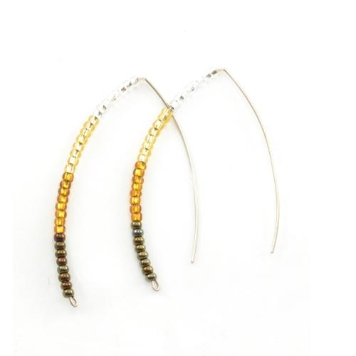 Styx Earrings - Gold - Lucias Imports (J) - Urban Hollywood | UrbanHollywood.com