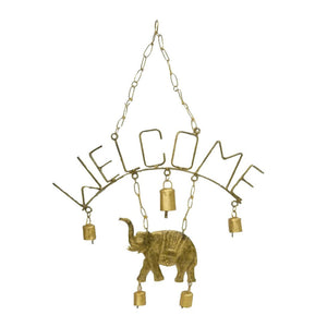 Welcome Elephant Chime with Five Bells - Mira (Bell) - Urban Hollywood | UrbanHollywood.com